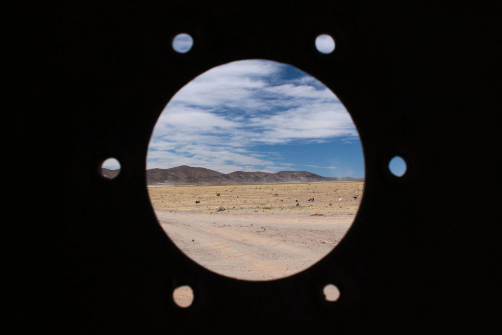 Deserto do Atacama pelo futo de um grande parafuso… – Bolívia